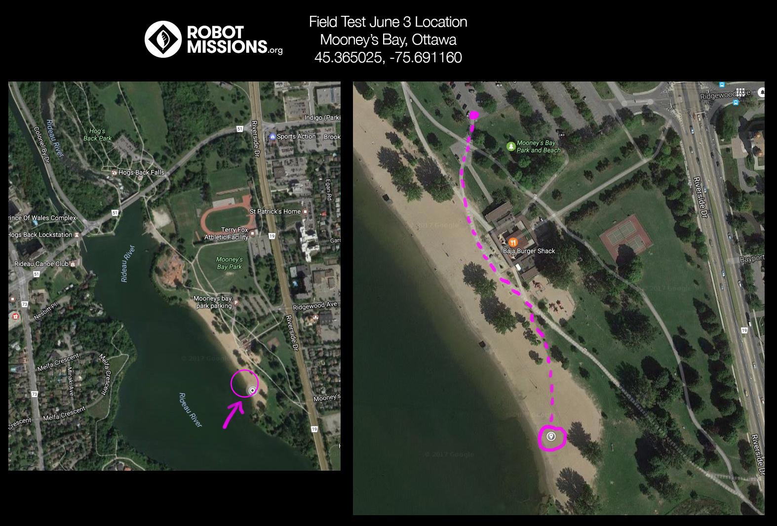 Location Change Field Test June 3