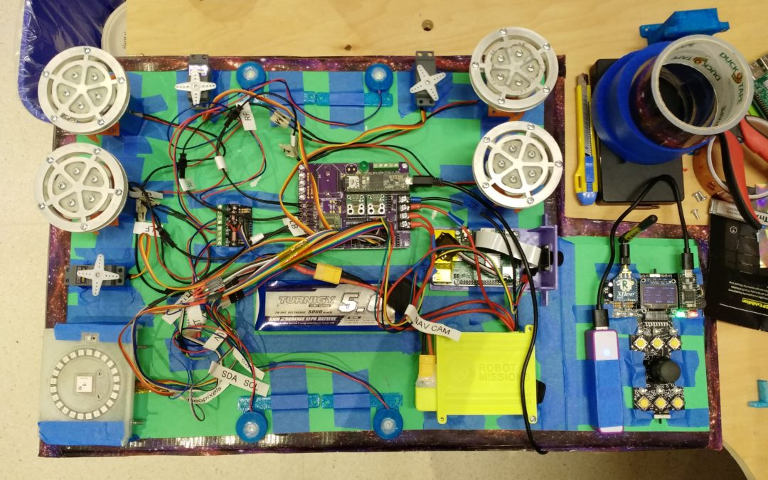 Tech Log #001: Foam board electronics unit