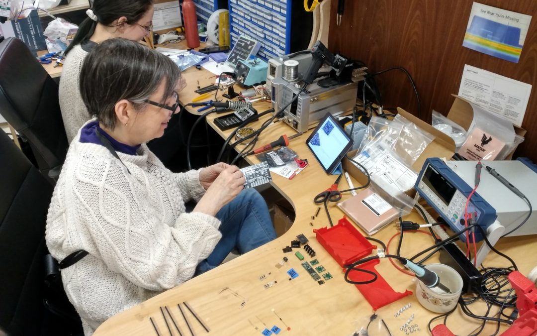 Collab Log #004: Epic 5 hour soldering session with Beck and Brenda