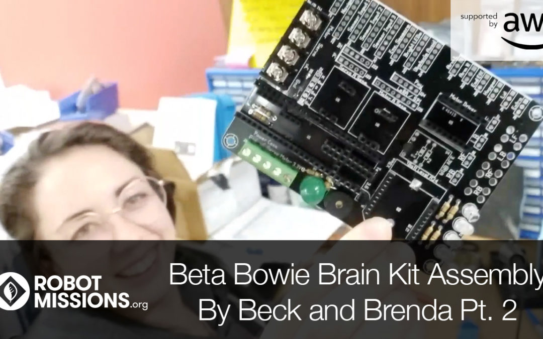 Collab Log #006: Brenda and Beck continue soldering