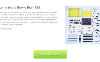 Kit Log #052: Brain Kit landing page