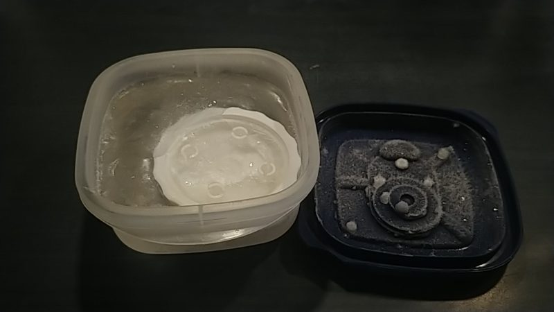 Frozen lid!