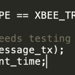 This entire block of code was missing! How?! I'm fairly certain given this worked before that the code was there before!